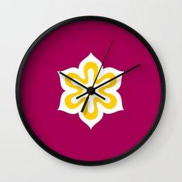 kyoto region flag japan prefecture Wall Clock