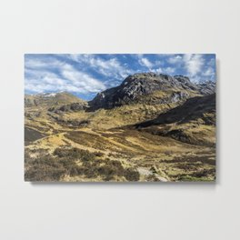 Glencoe Metal Print