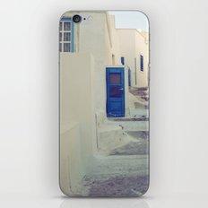 Santorini Door III iPhone Skin