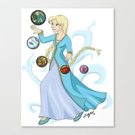 Fai's Magic Canvas Print