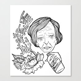 Well Done Mary Berry Canvas Print