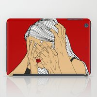 introvert iPad Cases featuring Introvert 4 by Heidi Banford
