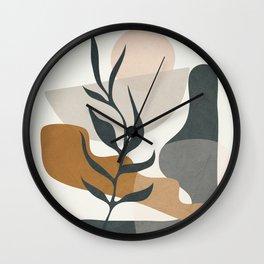 Abstract Decoration 02 Wall Clock