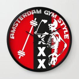 Amsterdam Gym Style 3 Wall Clock
