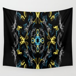 Abstract Silk Drawing Wall Tapestry