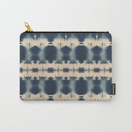 Indigo Beetle Shibori Carry-All Pouch