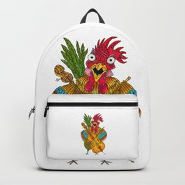 Screeching Rooster Backpack