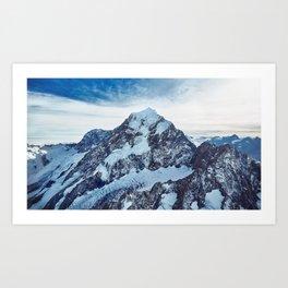Mount Cook New Zealand Ultra HD Art Print