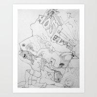 key Art Prints featuring Key by ℳajd