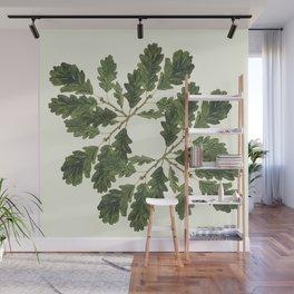 Oak ensemble (Cream  ground) Wall Mural
