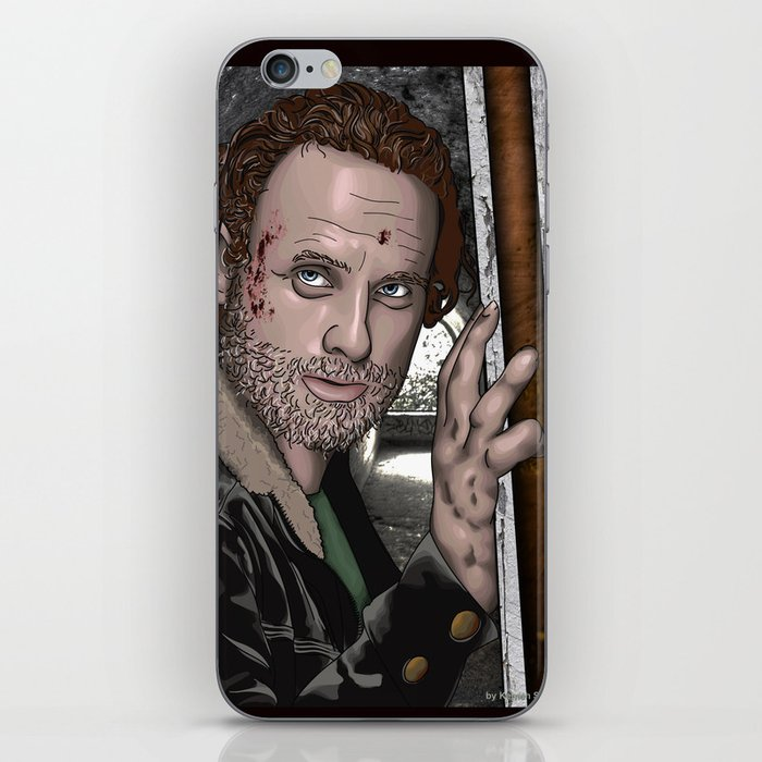 Rick Grimes  Walking Dead iPhone Skin
