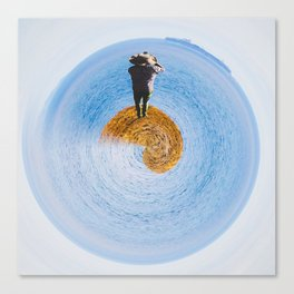 island in ocean Canvas Print