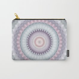 Heirloom Mandala in Pastel Colors Carry-All Pouch