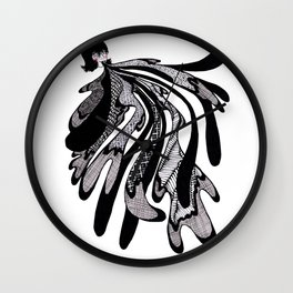 Spit Up Wall Clock
