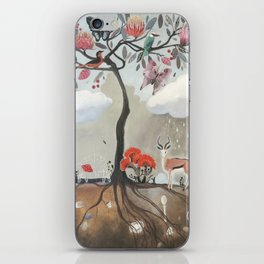 After Noon Tree iPhone Skin