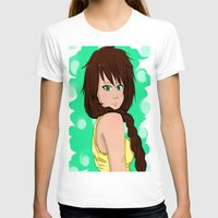 jasmine T-shirts featuring Jasmine by KittiKat15