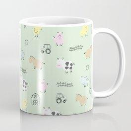 Cute Little Farm Animals Coffee Mug