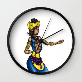 Queen M Wall Clock