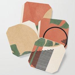 Nature Geometry I Coaster