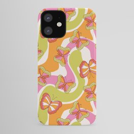 Groovy Butterfly 70s  iPhone Case