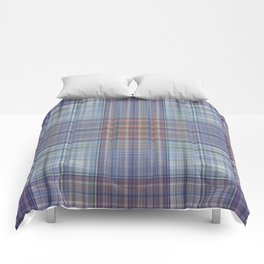 Classic Scottish plaid tartan pattern Comforters