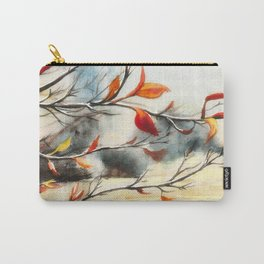 Autumn Colours Watercolour Painting Carry-All Pouch