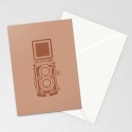 Vintage Rolleiflex Camera Illustration Stationery Cards