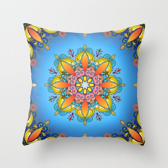 Just Joy Throw Pillow