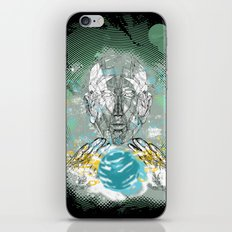 spatial golem iPhone & iPod Skin