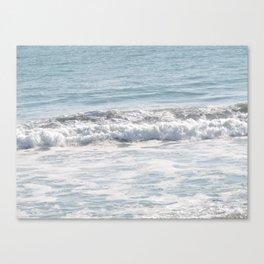 TEXTURES -- Surf   at San Clemente Canvas Print