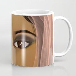 Mysterious Girl Coffee Mug