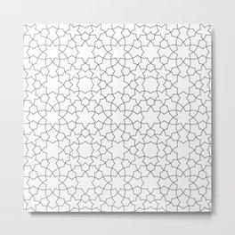 Minimalist Geometric 101 Metal Print