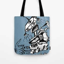 Is this how music sounds better Tote Bag