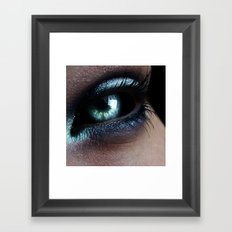 Dark Eye Framed Art Print