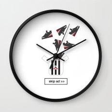 sneakers ad Wall Clock