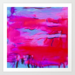 Pink Storm Art Print