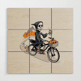 Fall Reaper Wood Wall Art