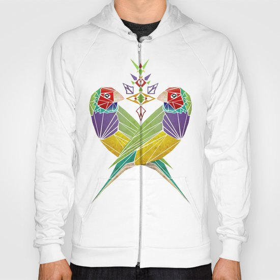 colors birds Hoody