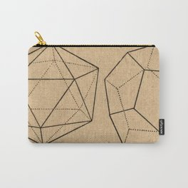 Crystal Geometry Carry-All Pouch
