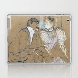 """Henri de Toulouse-Lautrec """"Lucien Guitry et Jeanne Grânier"""" Laptop & iPad Skin"""