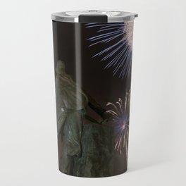 Fisherman's Memorial fireworks Travel Mug