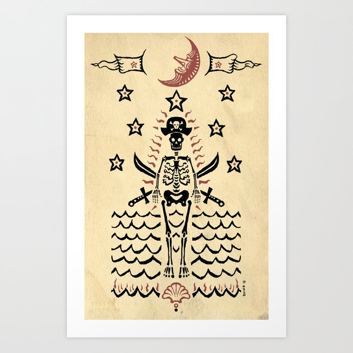 The Pirate Art Print