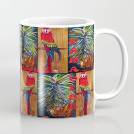 Parrots and Pineapples Coffee Mug