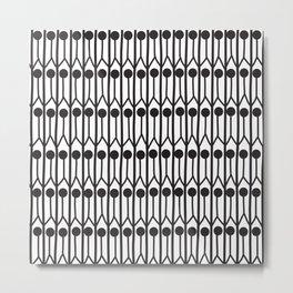abstraction of people, geometric. Metal Print