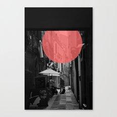 Venice Caffe del doge Canvas Print