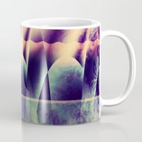 theater Mugs featuring Winter Theater by Truly Juel