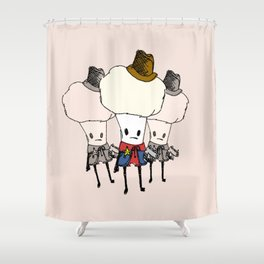 Cauliflower Kid Shower Curtain