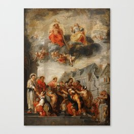 Classic painting of the saints Canvas Print