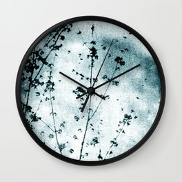Cold Winter Wall Clock