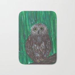 Zippy, The Owl Bath Mat